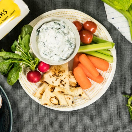 Tommy's Super Spinach Dip