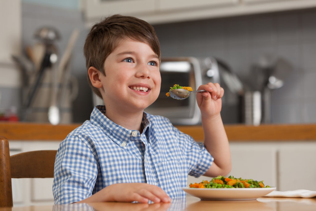 kids love tommy's superfoods vegetables