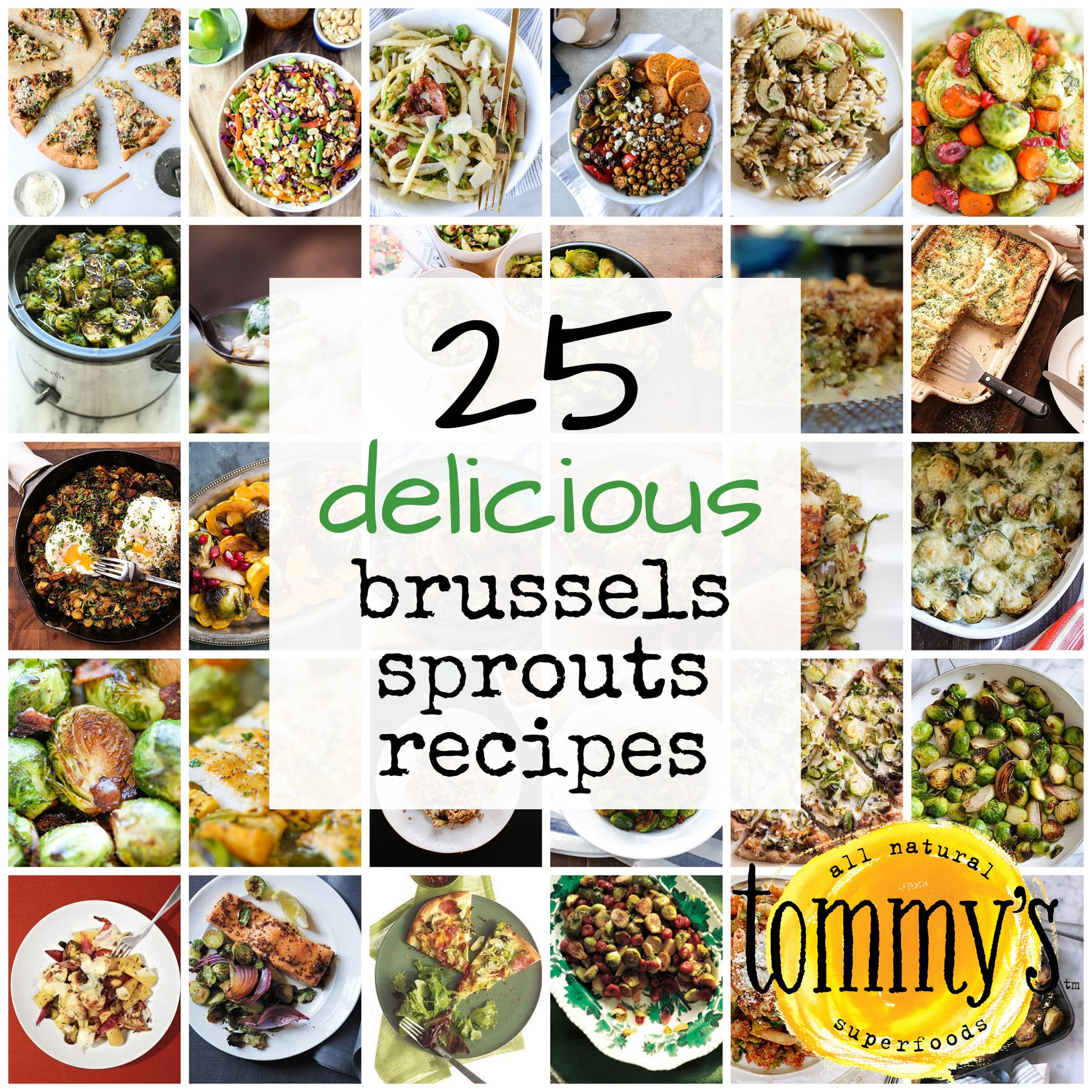 25 Delicious Brussels Sprouts