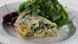 tommy's ham and eggs quiche