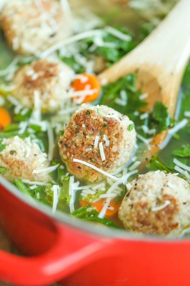 turkey-meatball-spinach-soup