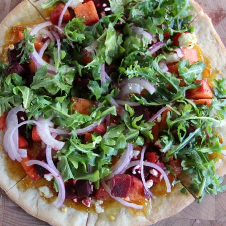 Root Fusion & Goat Cheese Flatbread