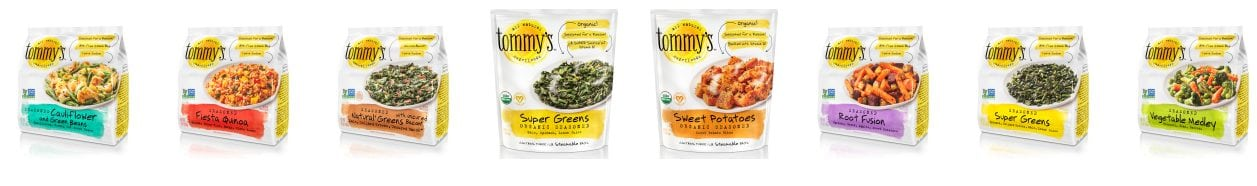 Tommy's Superfoods Vegetables