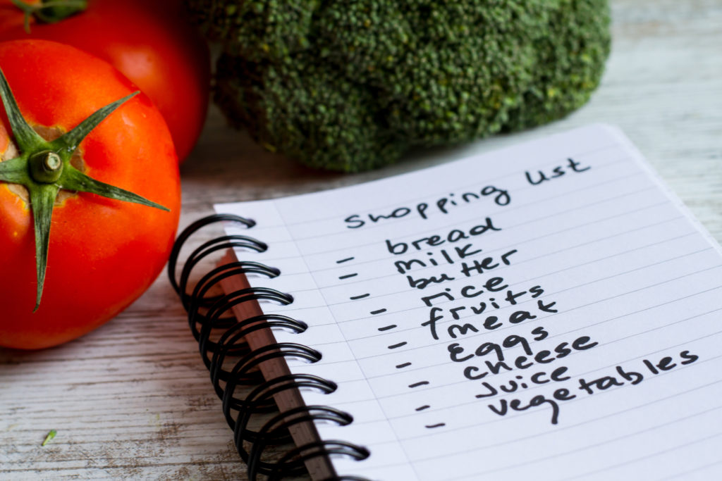 Combat Food Waste: Shopping List