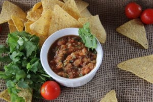 Tommy's Superfoods Homemade Salsa Recipe
