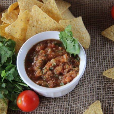 Tommy's Easy Homemade Salsa
