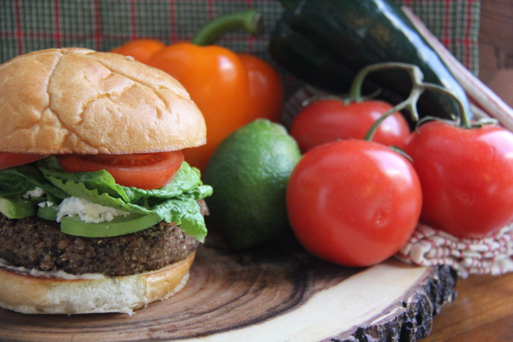 Tommy's Superfoods Veggie Burger 2