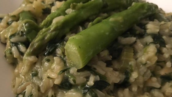 Valentines Day Recipes: Green Risotto