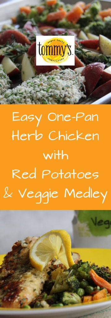 Herb Chicken with Tommy's Vegetable Medley - Tommy's Superfoods