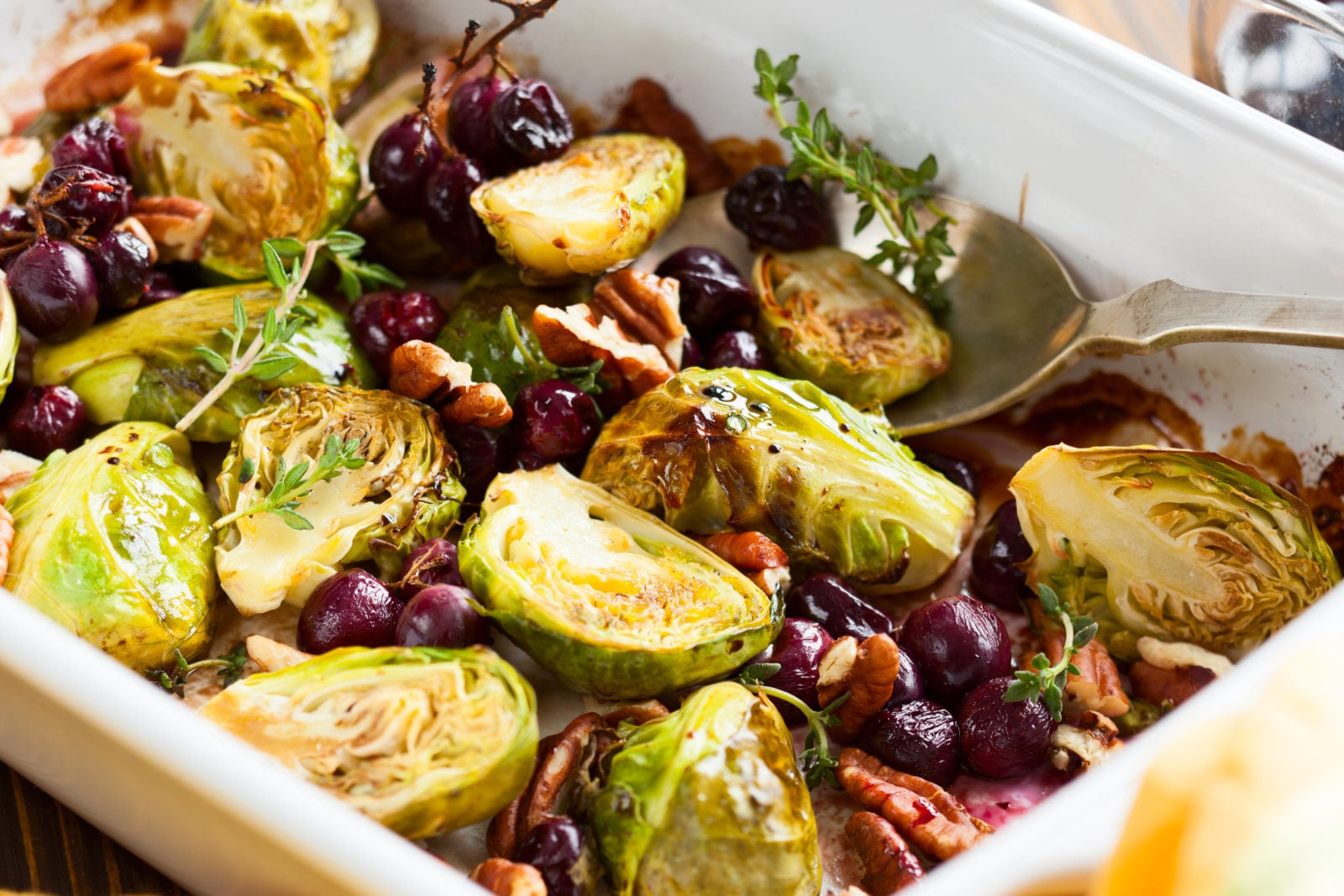 Vegetarian Diet: Roasted Brussels Sprouts