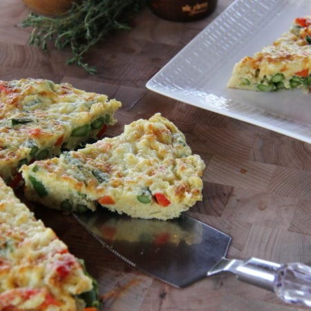 Easy Frittata Featuring Tommy's Asparagus