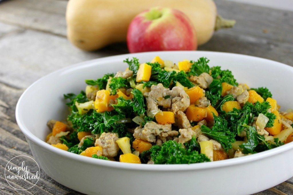 Apple-Butternut Hash - Grab and Go