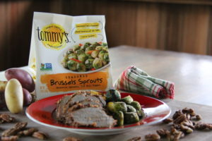 Easy One-Pan Brussels Sprouts and Pork Loin Recipe - Tommy's Superfoods