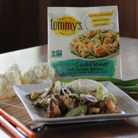 Super Sesame Tommy's Cauliflower & Green Beans with Brown Rice
