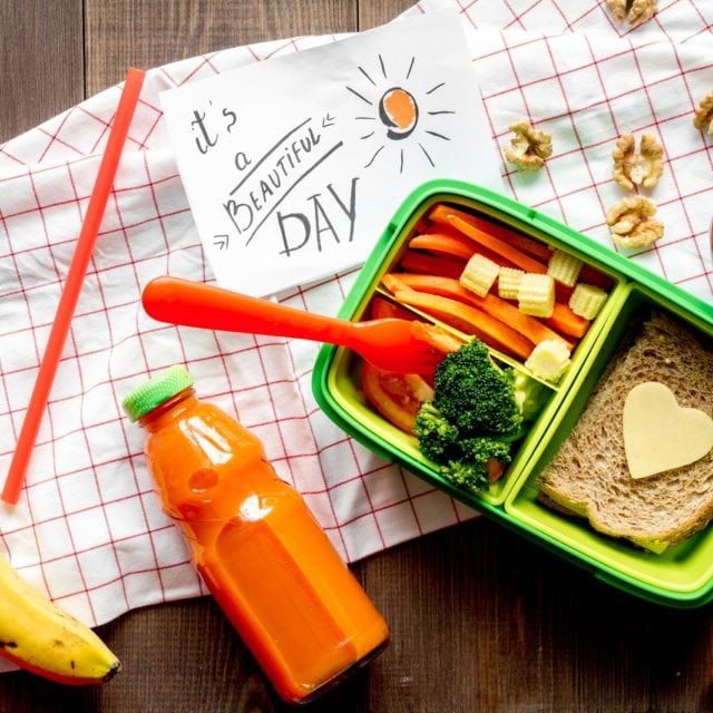 veggie-centric lunch box ideas