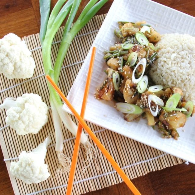 cauliflower stir-fry