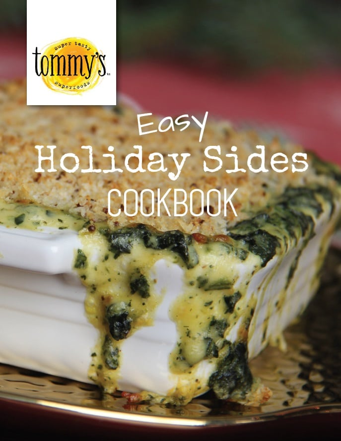 tommy's easy holiday sides cookbook