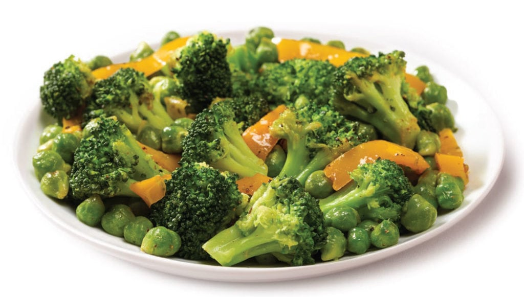 Tommy's Broccoli Remix with green chickpeas