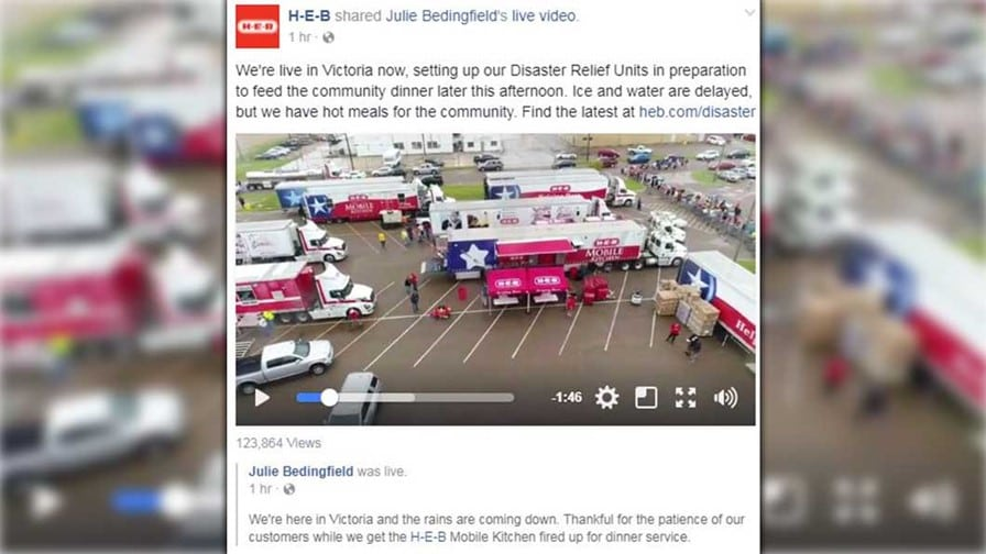 heb disaster relief