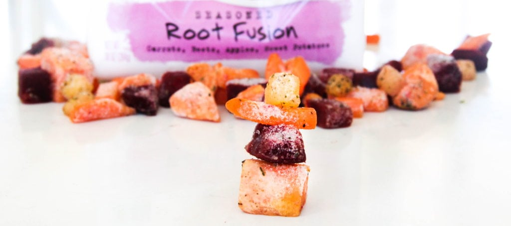 frozen root fusion close up