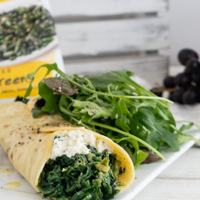 Super greens crepe