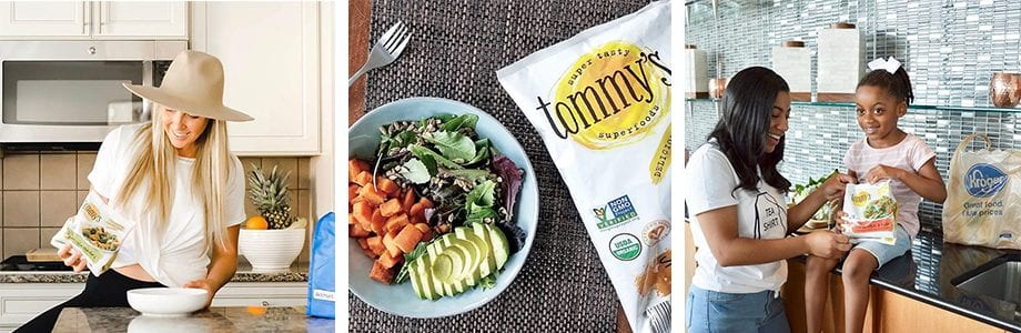 Try Tommys Superfoods frozen vegetable medleys today