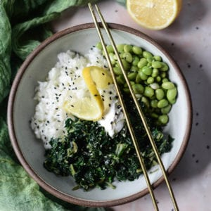 Super greens rice bowl