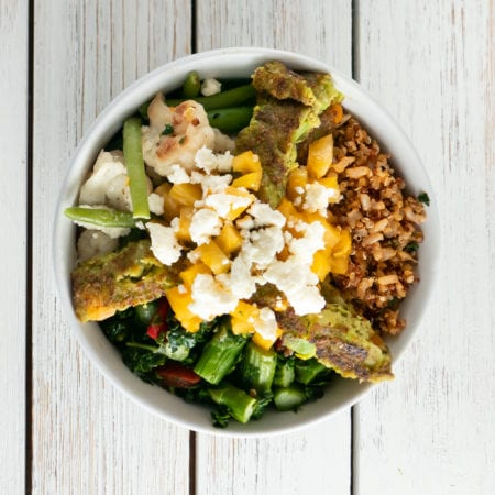 Loaded Veggie Burger Bowl
