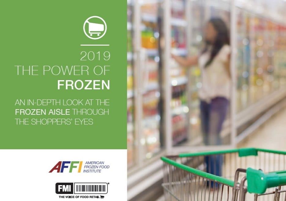 screenshot of the power of frozen 2019 report cover