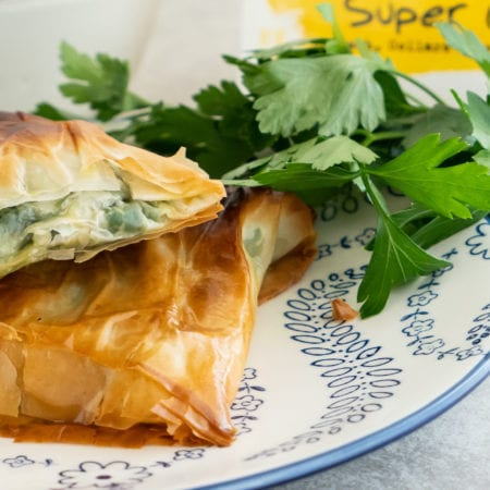 Super Greens Spanakopita